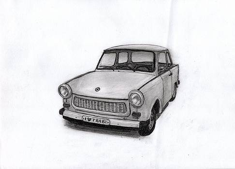Trabant 601 car by Kokas Art