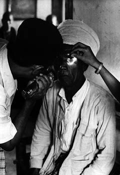 Trachoma. An Old Man With Trachoma by Everett