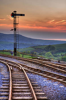 Stephen Barrie - Tracks at Sunset