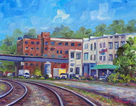 Tracks by the Wedge Brewery by Jeff Pittman