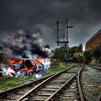 Trackside by Martin Billings