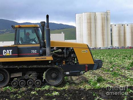 Tractor at Spreckels by James B Toy
