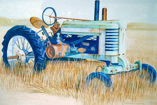 Tractor by Virginia White