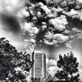 Trade Center in black and white by Toni Martsoukos