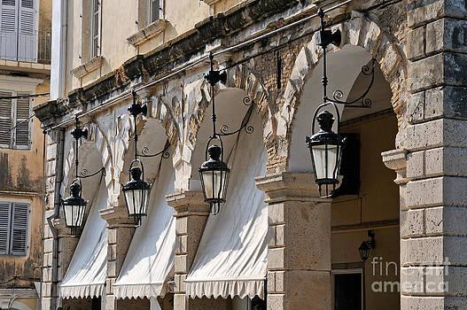 George Atsametakis - Traditional buildings at Spianada square