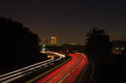Traffic Trails into Greenville by Thomas Taylor