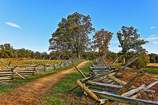 Trail Along Gettysburg Battlefield by SCB Captures
