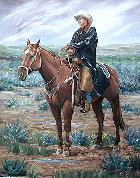 Trail Boss by Artist Karen Barton