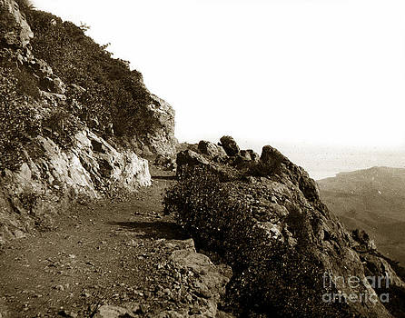 California Views Mr Pat Hathaway Archives - Trail on Mt. Tamalpais Marin Co California circa 1902