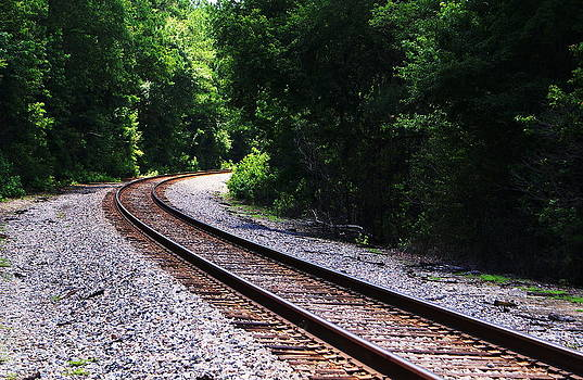 Trails Of Rails by Debbie May