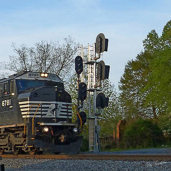 Train and Signals by Pete Trenholm
