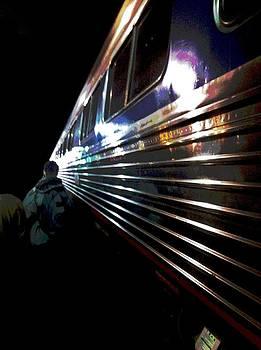 Train at Night by Mark Malitz
