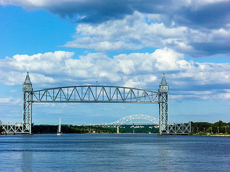 Train Bridge by Heather Sylvia