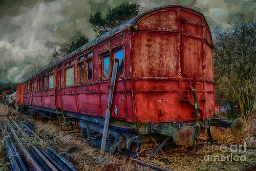 Train Carriage by J A Evans