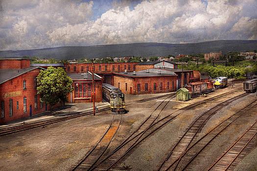 Mike Savad - Train - Entering the train yard