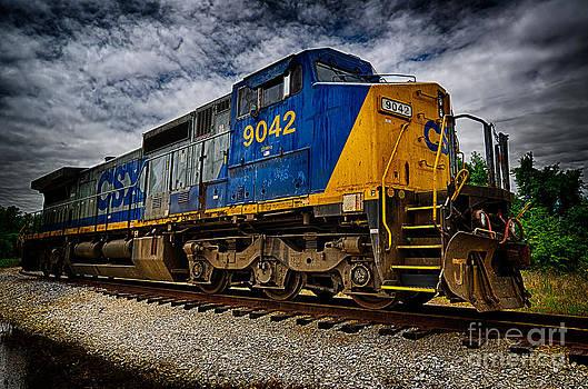Danny Hooks - Train Locomotive HDR