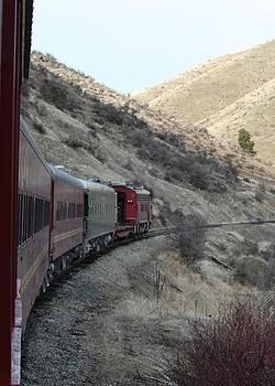 Train Ride by Rebecca Christine Cardenas