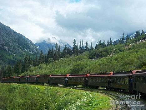 TRain Ride to the Yukon by Sandra McClure