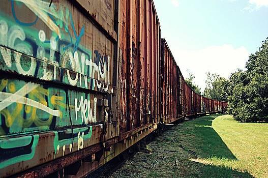 Train Spotting  by Heart On Sleeve ART