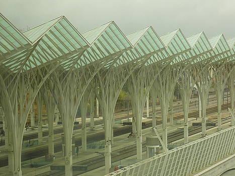 Adrienne Franklin - Train Station by Day