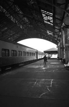Train Station by Manuel  Acevedo