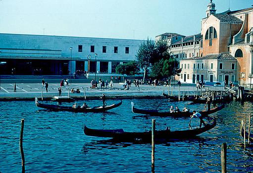 Train Station Venice 1961 by Cumberland Warden