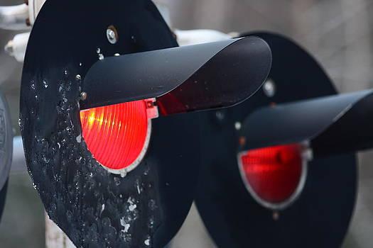 Train Track Lights by Dana Moos