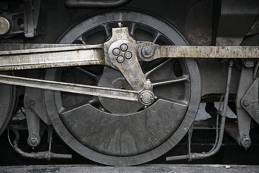 Mark Severn - train wheels