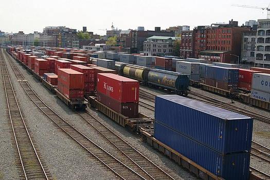 Train Yard by Devinder Sangha