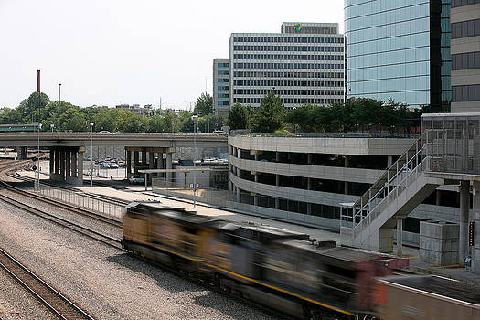 Train yard Union Station by Joenne Hartley