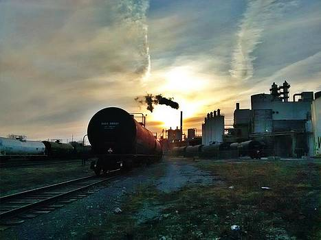 train's in Atchison by Dustin Soph