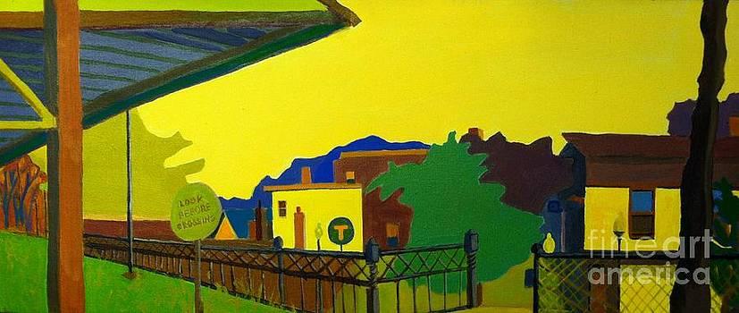 Trainstop by Debra Bretton Robinson