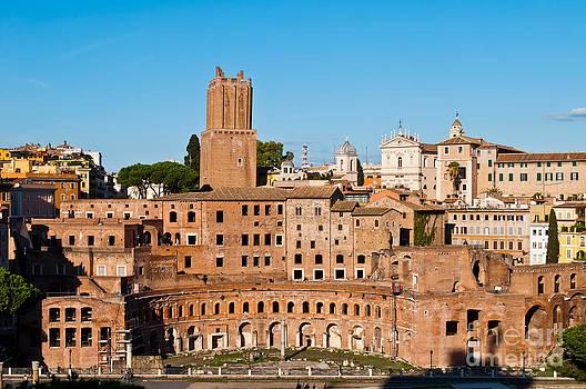 Trajan's Market in Rome by Luis Alvarenga