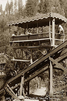 California Views Mr Pat Hathaway Archives - Tram at Shasta Springs California circa 1925