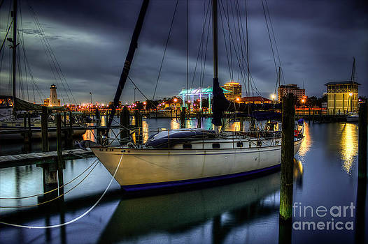 Tranquil Harbour Evening by Maddalena McDonald
