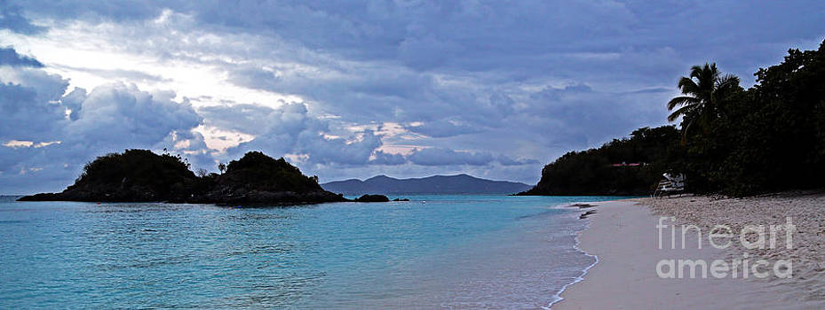 Tranquil Trunk Bay by Betty Morgan