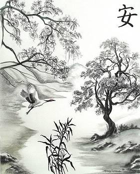 Tranquility w Kona Moringa by Melodye Whitaker