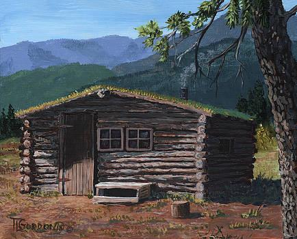 Trapper cabin by Timithy L Gordon