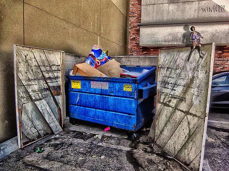 Trash Bin Granny by Bob Winberry