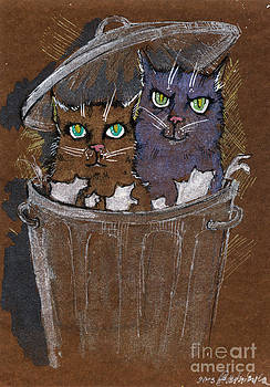 Angel  Tarantella - trash cats
