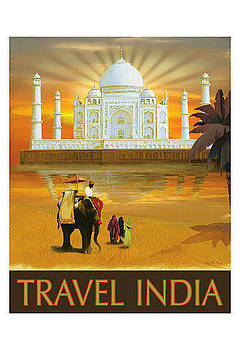 Travel India by Vintage