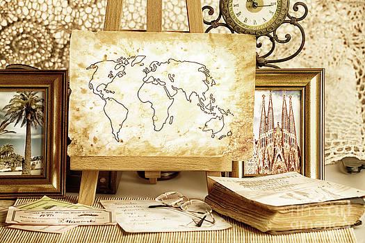 Travel objects by Monika Wisniewska