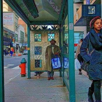 Travel Weary In #philadelphia  many by Stacey Lewis