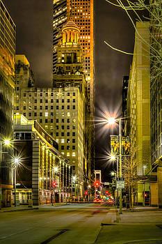 David Morefield - Travis and Lamar Street at Night