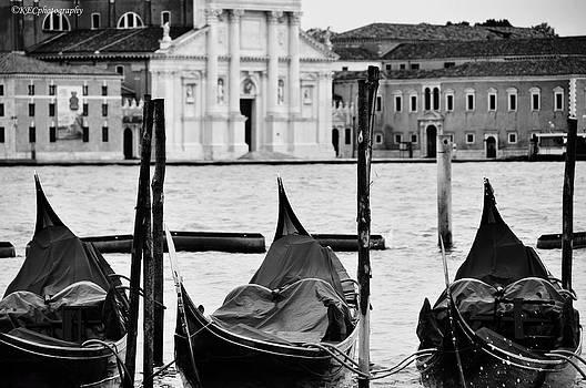 Tre Gondola by Karen E Camilleri