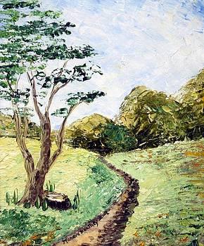 Monique Montney - Tree and Path