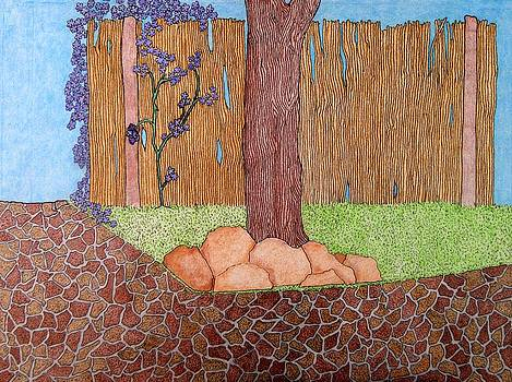 Tree Bottom 3 of 3 by Gregory Carrico