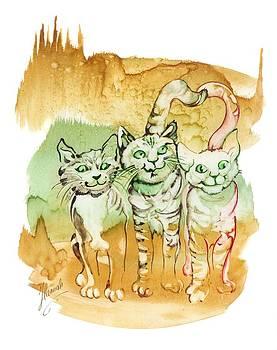 Tree Brothers  by Anna Ewa Miarczynska