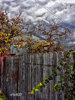 Tree Fort Near Alley by Bob Winberry