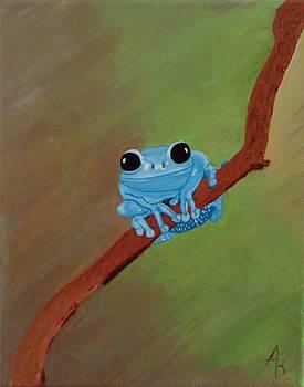 Tree Frog  by Alex Banman